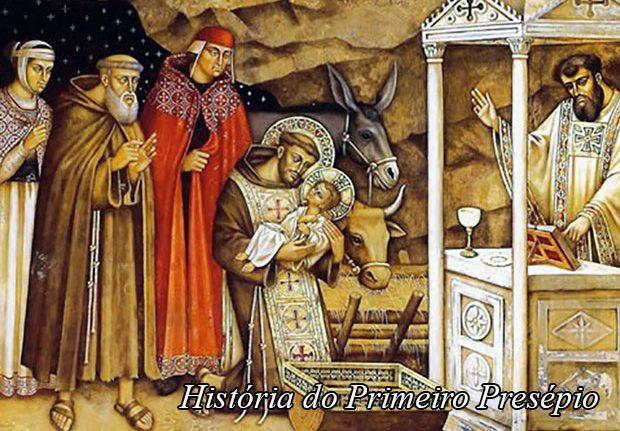 História do Presépio de Natal