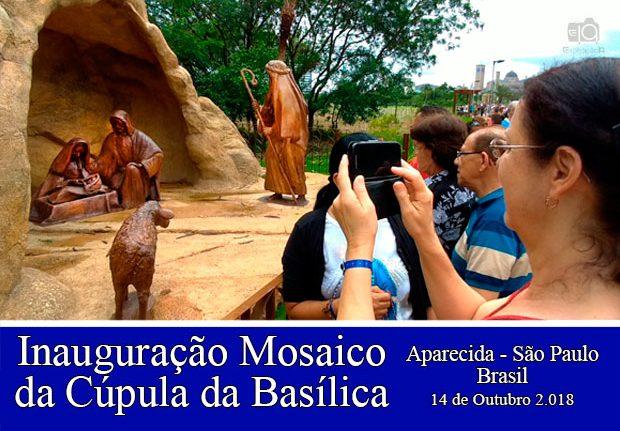 Inauguração do Caminho do Rosário – Aparecida-SP. Brasil